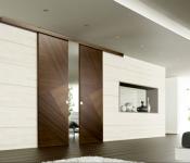 Полный обзор сдвижных межкомнатных дверей
