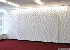 Выравнивание стен под обои при помощи гипсокартонных листов