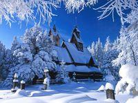 Поклейка обоев зимой