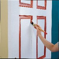 Чем покрасить металлическую дверь