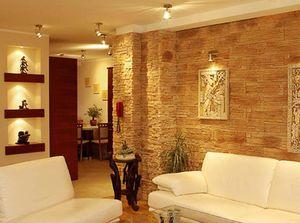 Выбор декоративного камня на стену