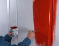 Как самому покрасить межкомнатные двери