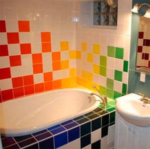 Как подобрать размер плитки для ванной