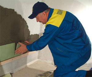 Как производится укладка кафельной плитки на стены