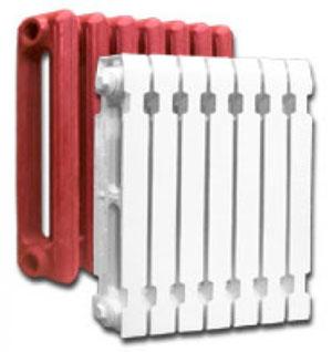 Отличие биметаллических радиаторов от чугунных