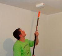 Каков расход водоэмульсионной краски при потолочных работах