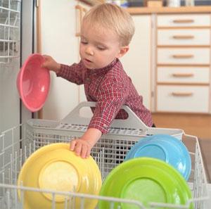 Выбирайте посудомоечную машиу с функцией защиты от детей
