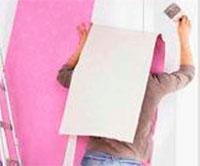 Как самому наклеить флизелиновые обои на стены