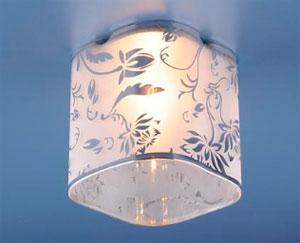 Как выглядят наружные светильники для натяжных потолков