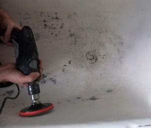 Сбиваем глянец на ванне перед установкой акрилового вкладыша