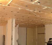 Как изолировать от шума потолок в квартире