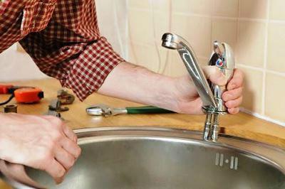 как установить смеситель на кухне