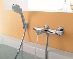 Различные виды вентильных смесителей для ванны