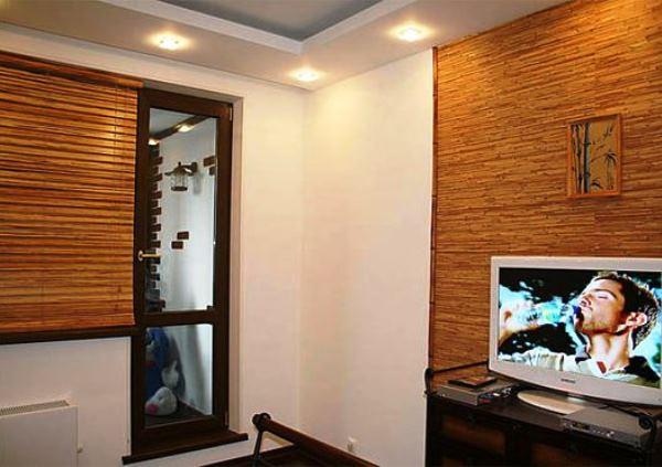 бамбуковые обои в интерьере фото 2
