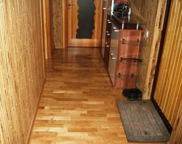 бамбуковые обои в коридоре фото 2