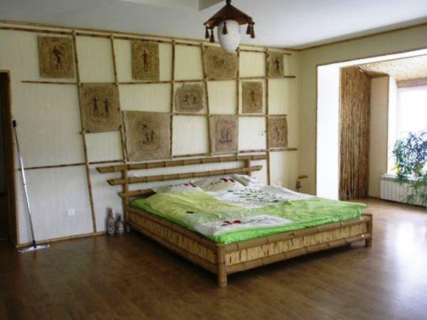бамбуковый интерьер фото