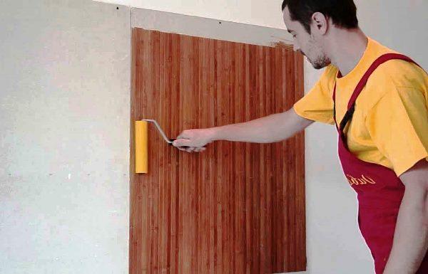 Технология поклейки бамбуковых обоев