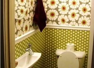 моющиеся обои для туалета фото