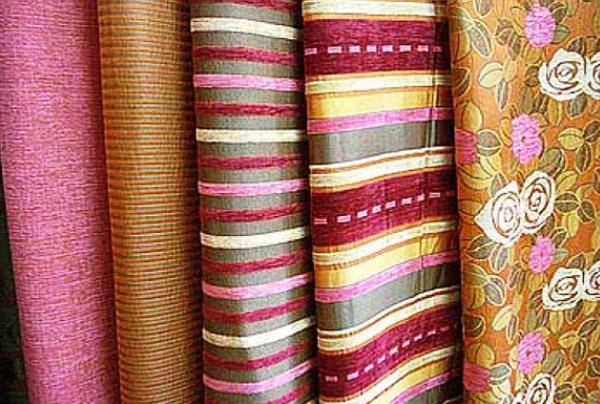 текстильные обои на бумажной основе