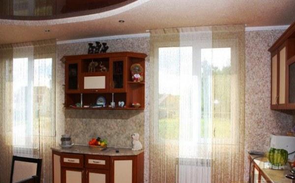 жидкие обои в интерьере кухни фото 4