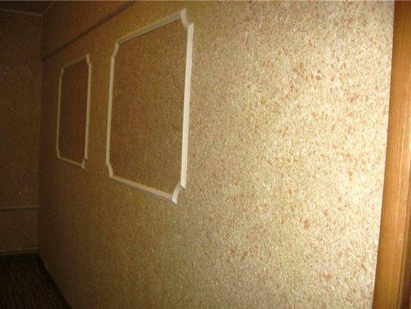 жидкие обои в коридоре фото 2
