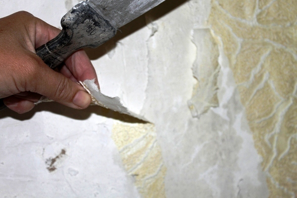 подготовка стен к поклейке стеклообоев