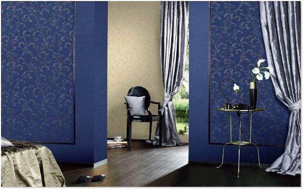 текстильные обои для стен отзывы фото