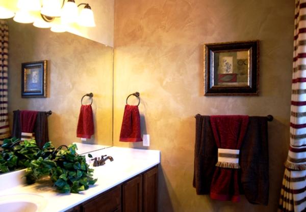 жидкие обои в ванной фото 2