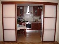 межкомнатные раздвижные двойные двери