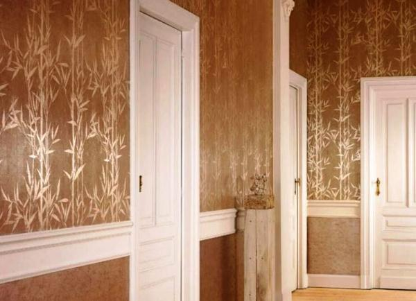 стены с виниловыми обоями