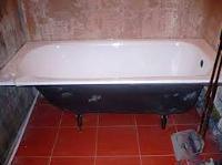 установка чугунной ванны видео