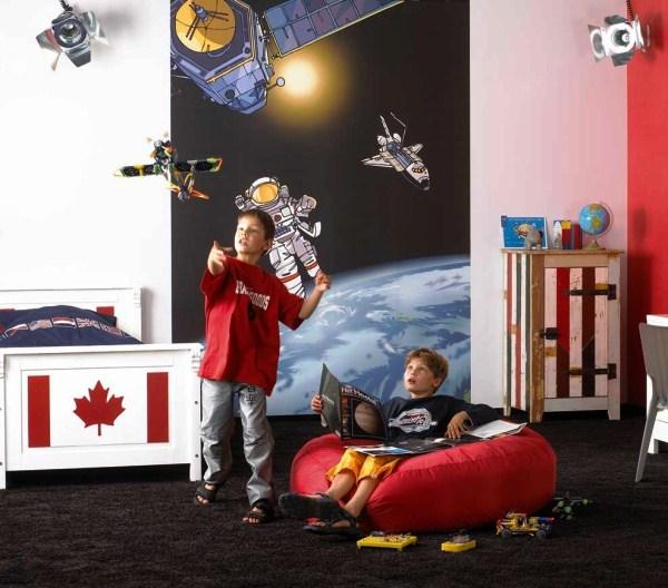 детские космические фотообои