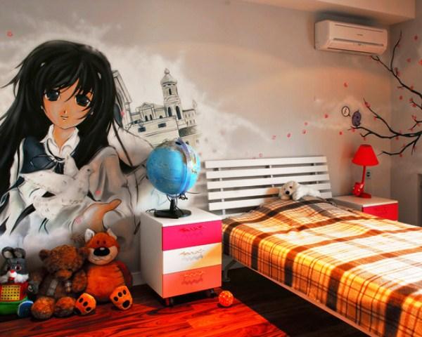 фотообои аниме на стену: