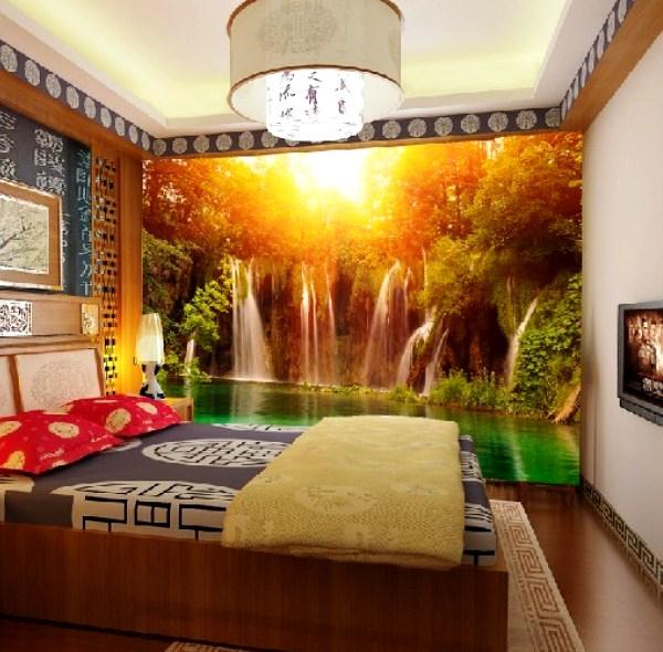 фотообои для маленькой спальни