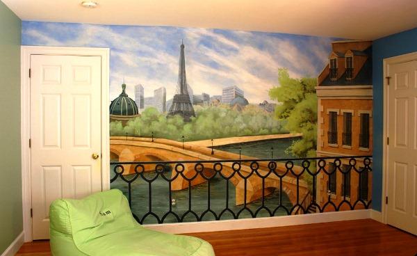 фотообои для стен Париж
