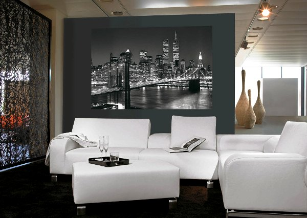 фотообои город на стену: