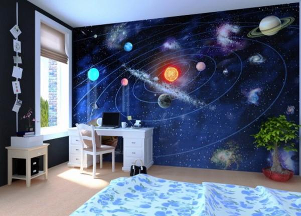 фотообои космос для детской
