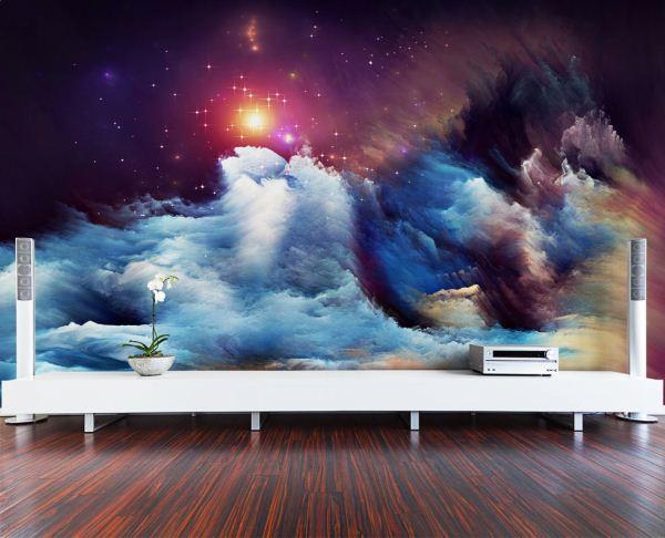 фотообои космос на стену