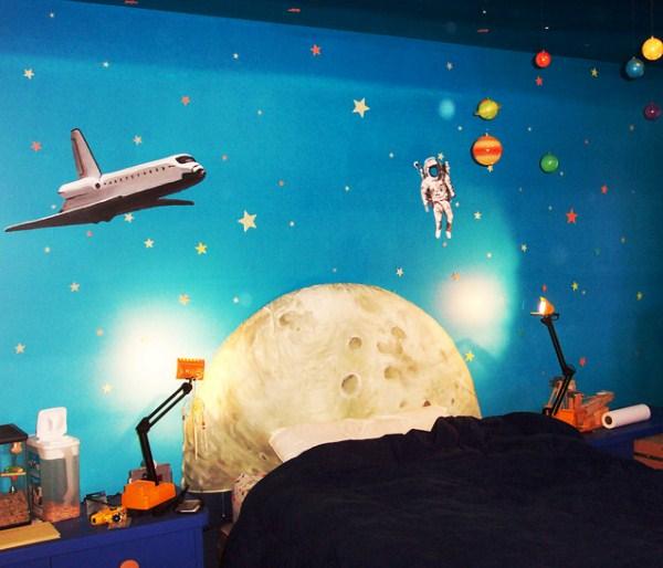 фотообои космос в детскую комнату