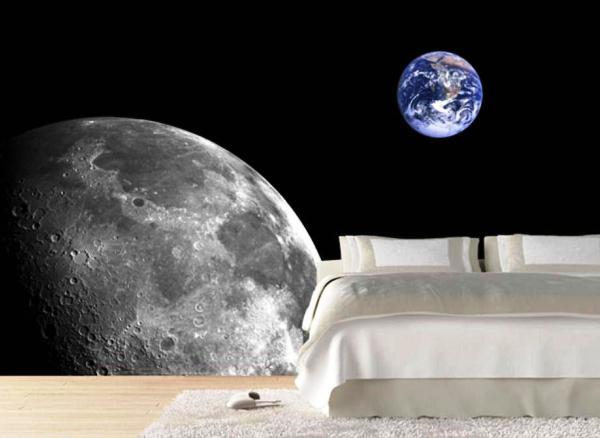 фотообои луна