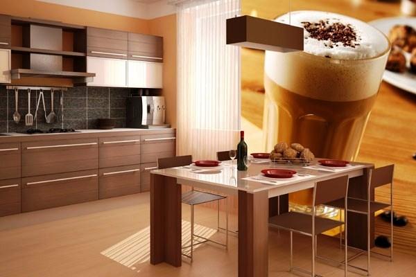 фотообои на кухне идеи интерьера