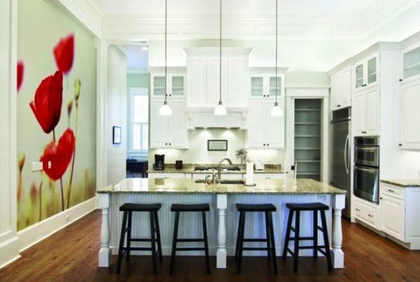 фотообои на стену кухни