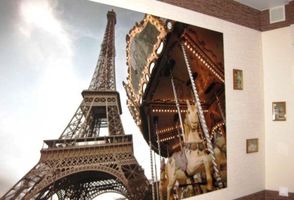 фотообои на стену Париж фото