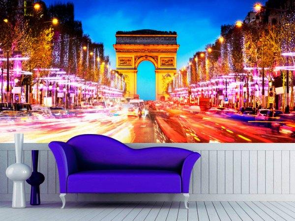 фотообои Париж на стену
