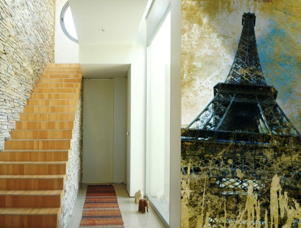 фотообои Париж в коридоре