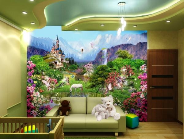 фотообои сказочный лес в детской