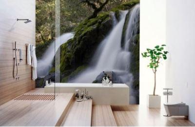 фотообои в ванную комнату