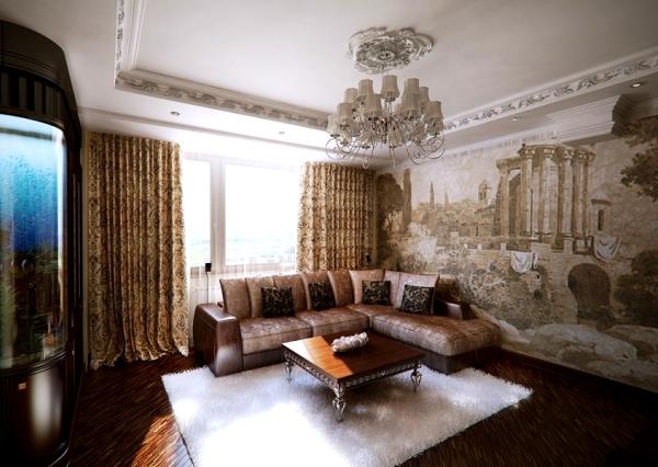дизайн комнаты с фотообоями фото 9