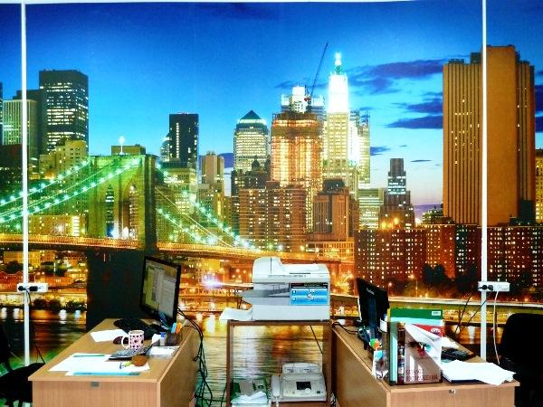 фотообои города в интерьере фото 11