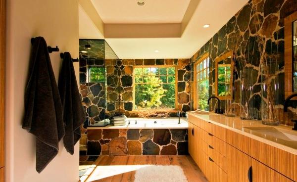 фотообои камни в интерьере 7